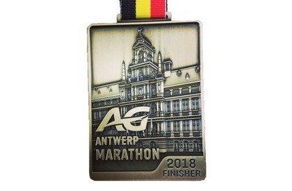 AG Antwerp Marathon médaille