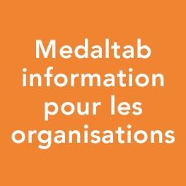 Medaltab information pour les organisations