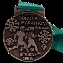 Médaille de course virtuelle