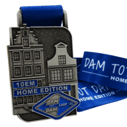 Medaille de course virtuelle Damloop