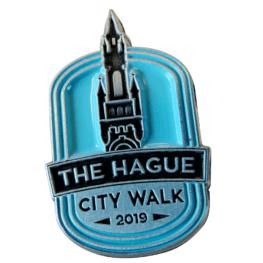 The Hague City Walk pin