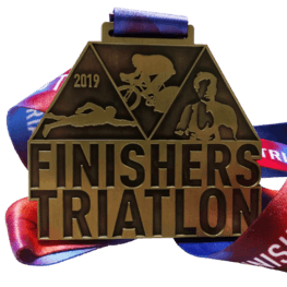 Finishers Triathlon médaille