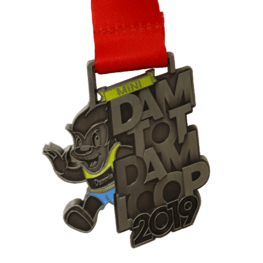 Kids run médaille Dam tot Dam loop