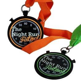 Night Run médaille The Night Run Festival