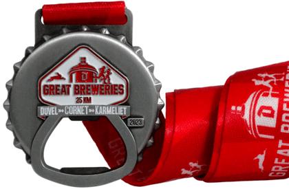 Les médailles avec éléments ouverts