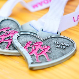 Ladies Run médaille Rotterdam