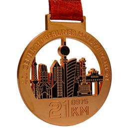 Médaille matt couleur bronze