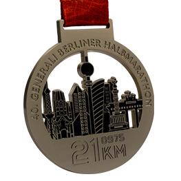 Médaille matt couleur argent