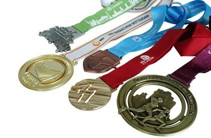 Variantes de couleur de base pour les médailles