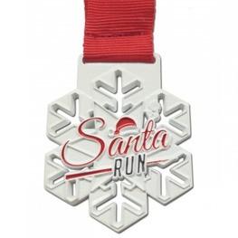 Santa Run médaille