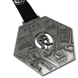 Obstacle Run médaille