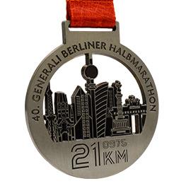 Médaille antique couleur argent